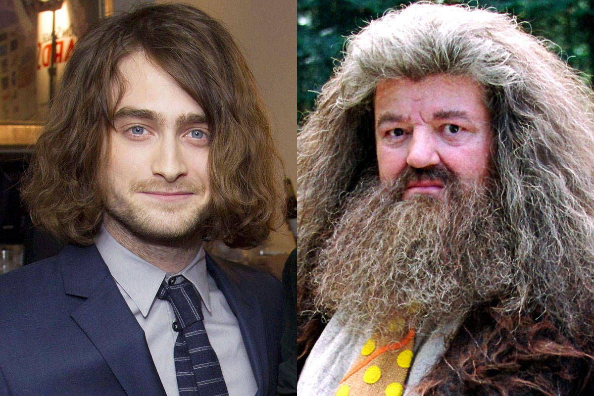 Daniel Radcliffe Hair Extensions