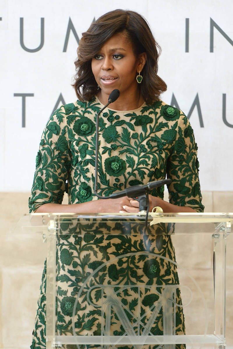 Michelle Obama Opens the Mets New Costume Center