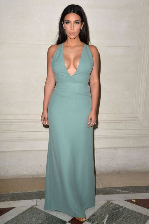 Clothing, Blue, Dress, Shoulder, Joint, Standing, Formal wear, Style, Teal, One-piece garment,