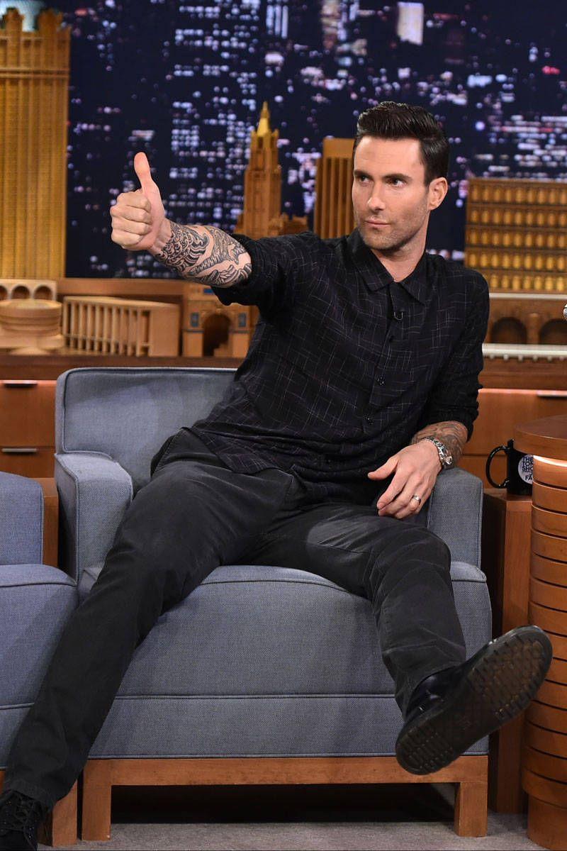 Adam Levine Revealed a Hidden Talent Last Night on The Tonight Show