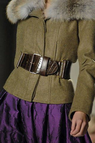 Oscar de la Renta Fall 2008 Ready-to-wear Detail - 001
