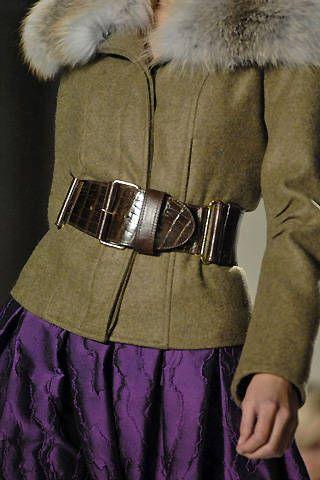 Oscar de la Renta Fall 2008 Ready-to-wear Detail - 001
