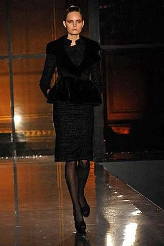 J. Mendel Fall 2008 Ready-to-wear Collections - 001