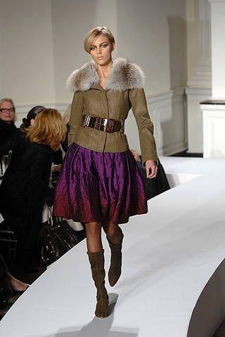 Oscar De La Renta Fall 2008 Ready-to-wear Collections - 001