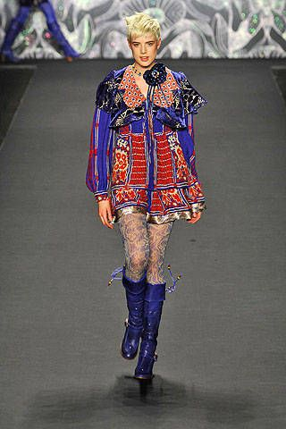 Anna Sui Fall 2008 Ready-to-wear Collections - 001