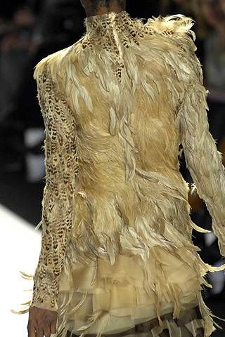 Project Runway Christian Siriano Fall 2008 Ready-to-wear Detail - 001