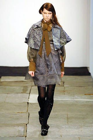 Bora Aksu Fall 2008 Ready-to-wear Collections - 001