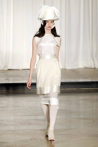 Richard Nicoll Fall 2008 Ready-to-wear Collections - 001