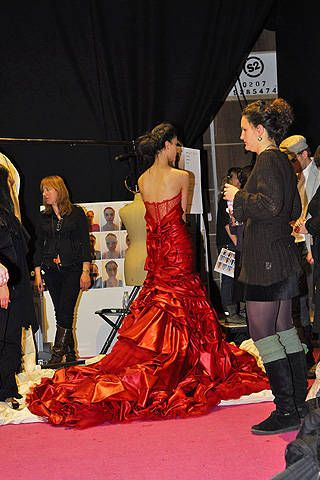 Jenny Packham Fall 2008 Ready-to-wear Backstage - 001