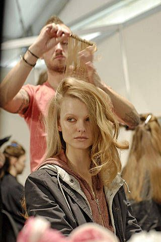 Just Cavalli Fall 2008 Ready-to-wear Backstage - 001