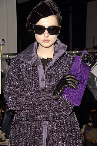 Emporio Armani Fall 2008 Ready-to-wear Backstage - 001