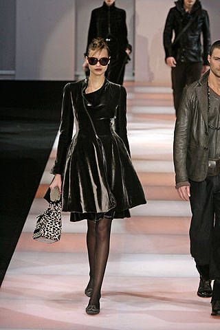 Emporio Armani Fall 2008 Ready-to-wear Collections - 001