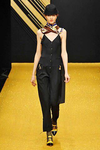 Gaspard Yurkievich Fall 2008 Ready&#45&#x3B;to&#45&#x3B;wear Collections &#45&#x3B; 001