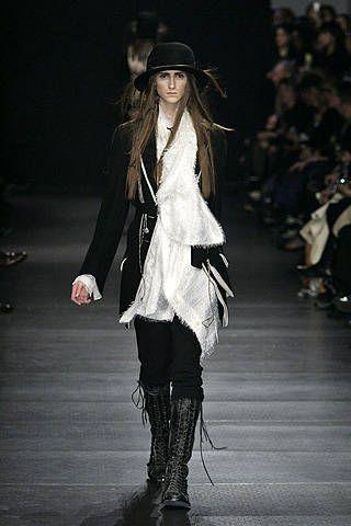 Ann Demeulemeester Fall 2008 Ready&#45&#x3B;to&#45&#x3B;wear Collections &#45&#x3B; 001