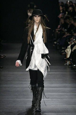 Ann Demeulemeester Fall 2008 Ready-to-wear Collections - 001