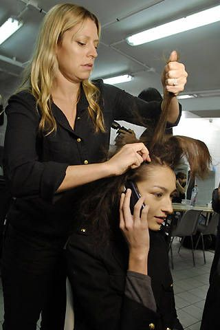 Gaspard Yurkievich Fall 2008 Ready-to-wear Backstage - 001