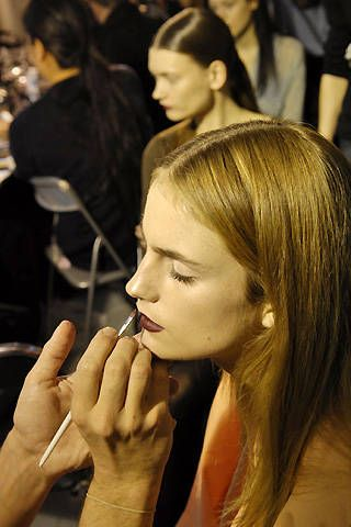 Bruno Pieters Fall 2008 Ready-to-wear Backstage - 001