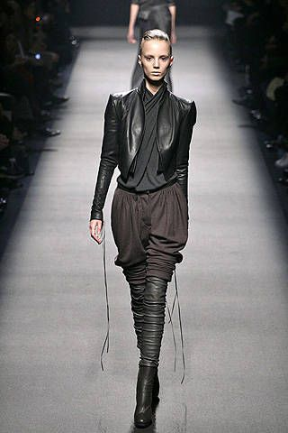 Haider Ackermann Fall 2008 Ready-to-wear Collections - 001
