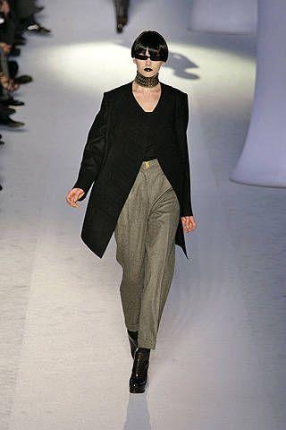 Yves Saint Laurent Fall 2008 Ready&#45&#x3B;to&#45&#x3B;wear Collections &#45&#x3B; 001