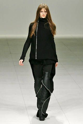 Rick Owens Fall 2008 Ready-to-wear Collections - 001