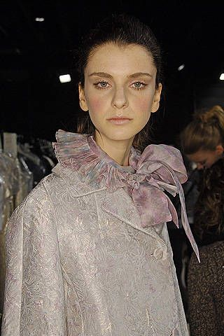 Luisa Beccaria Fall 2008 Ready-to-wear Backstage - 002