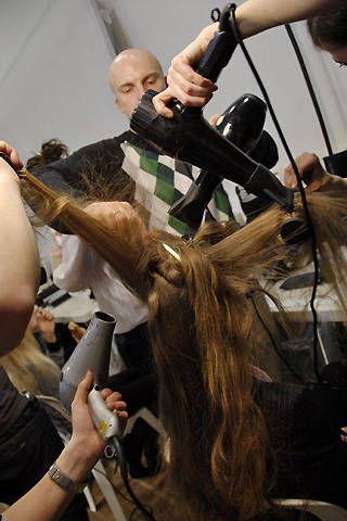 Issey Miyake Fall 2008 Ready-to-wear Backstage - 001