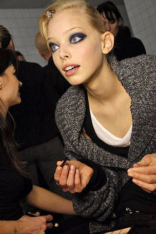 Elie Saab Fall 2008 Ready-to-wear Backstage - 001