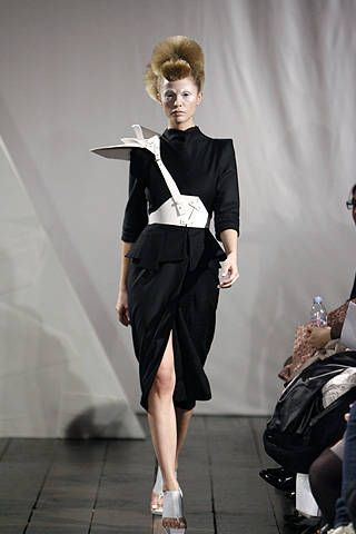 Ana Sekularac Fall 2008 Ready-to-wear Collections - 001