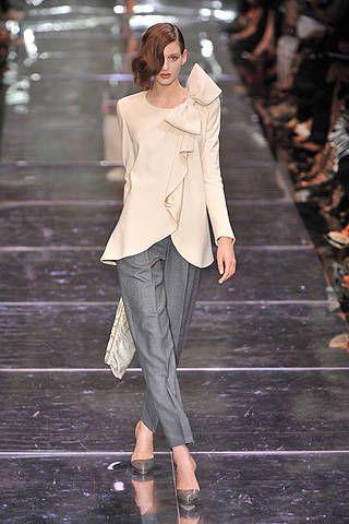 Giorgio Armani Priv&#195&#x3B;{{{copy}}} Fall 2008 Haute Couture Collections &#45&#x3B; 001