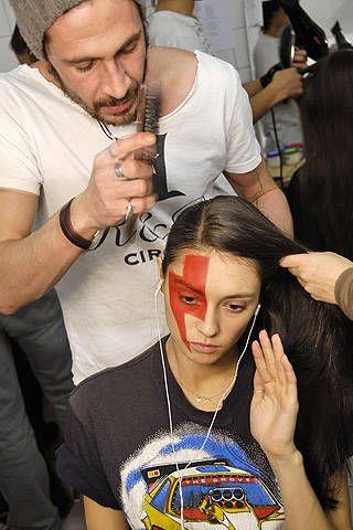Jean-Charles de Castelbajac Fall 2008 Ready-to-wear Backstage - 001