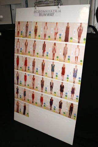 BCBG Max Azria Spring 2009 Ready-to-wear Backstage - 001