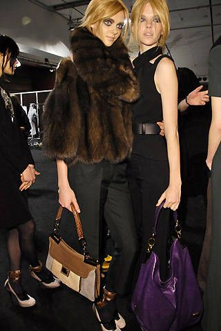 Barbara Bui Fall 2008 Ready-to-wear Backstage - 001
