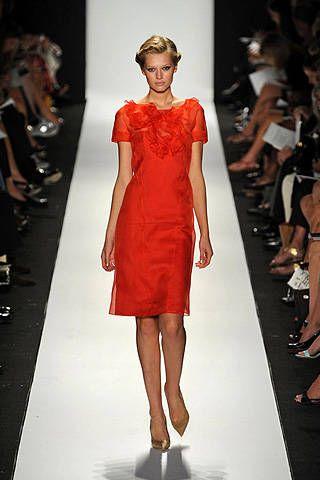 Carolina Herrera Spring 2009 Ready-to-wear Collections - 001