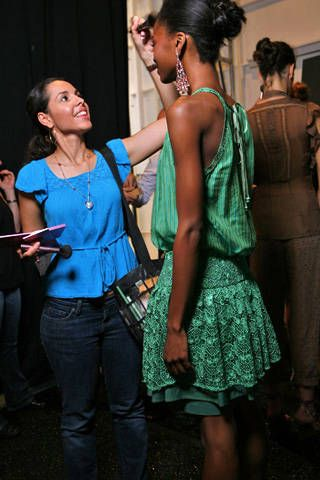 Tracy Reese Spring 2009 Ready-to-wear Backstage - 001