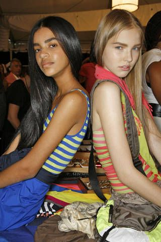 DKNY Spring 2009 Ready-to-wear Backstage - 001