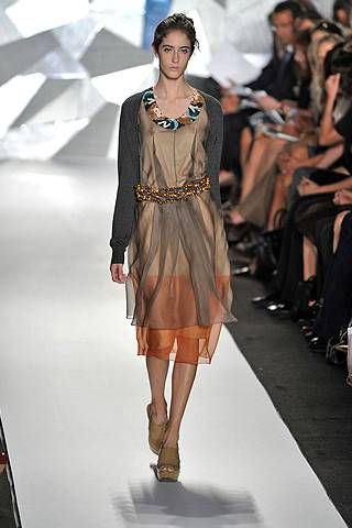 Vera Wang Spring 2009 Ready-to-wear Collections - 001
