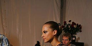 Marc Valvo Spring 2009 Ready-to-wear Backstage - 001