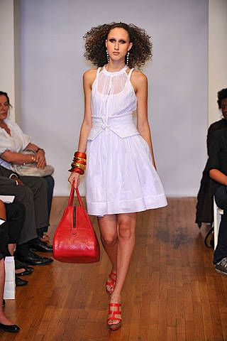 Stephen Burrows Spring 2009 Ready-to-wear Collections - 001