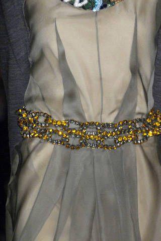 Vera Wang Spring 2009 Ready-to-wear Detail - 001