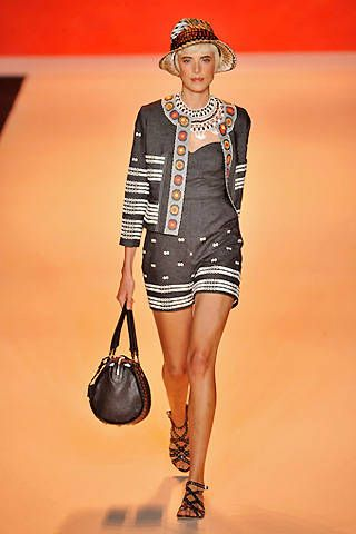 Anna Sui Spring 2009 Ready-to-wear Collections - 001