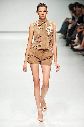 Marios Schwab Spring 2009 Ready-to-wear Collections - 001