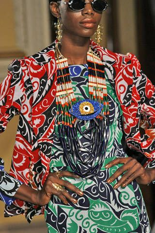 Duro Olowu Spring 2009 Ready-to-wear Detail - 001