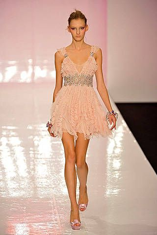 Jenny Packham Spring 2009 Ready-to-wear Collections - 001