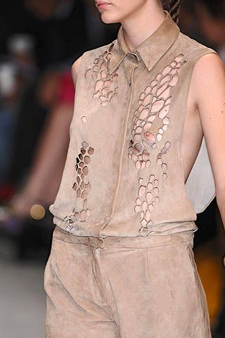 Marios Schwab Spring 2009 Ready-to-wear Detail - 001