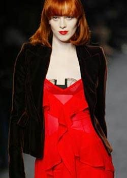 YSL Rive Gauche Fall 2003 Ready-to-Wear Detail 0001