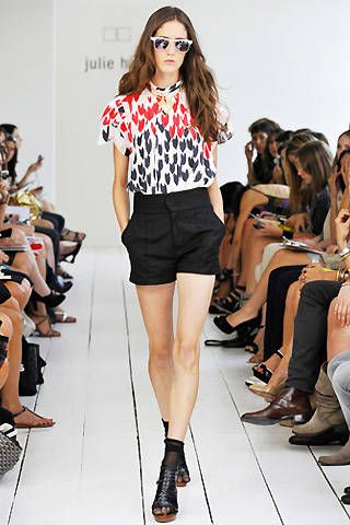 Julie Haus Spring 2009 Ready-to-wear Collections - 001