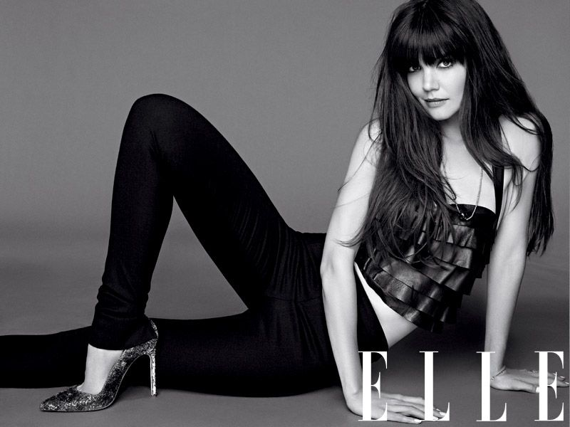 Katie Holmes: Natural Woman, August 2012 cover