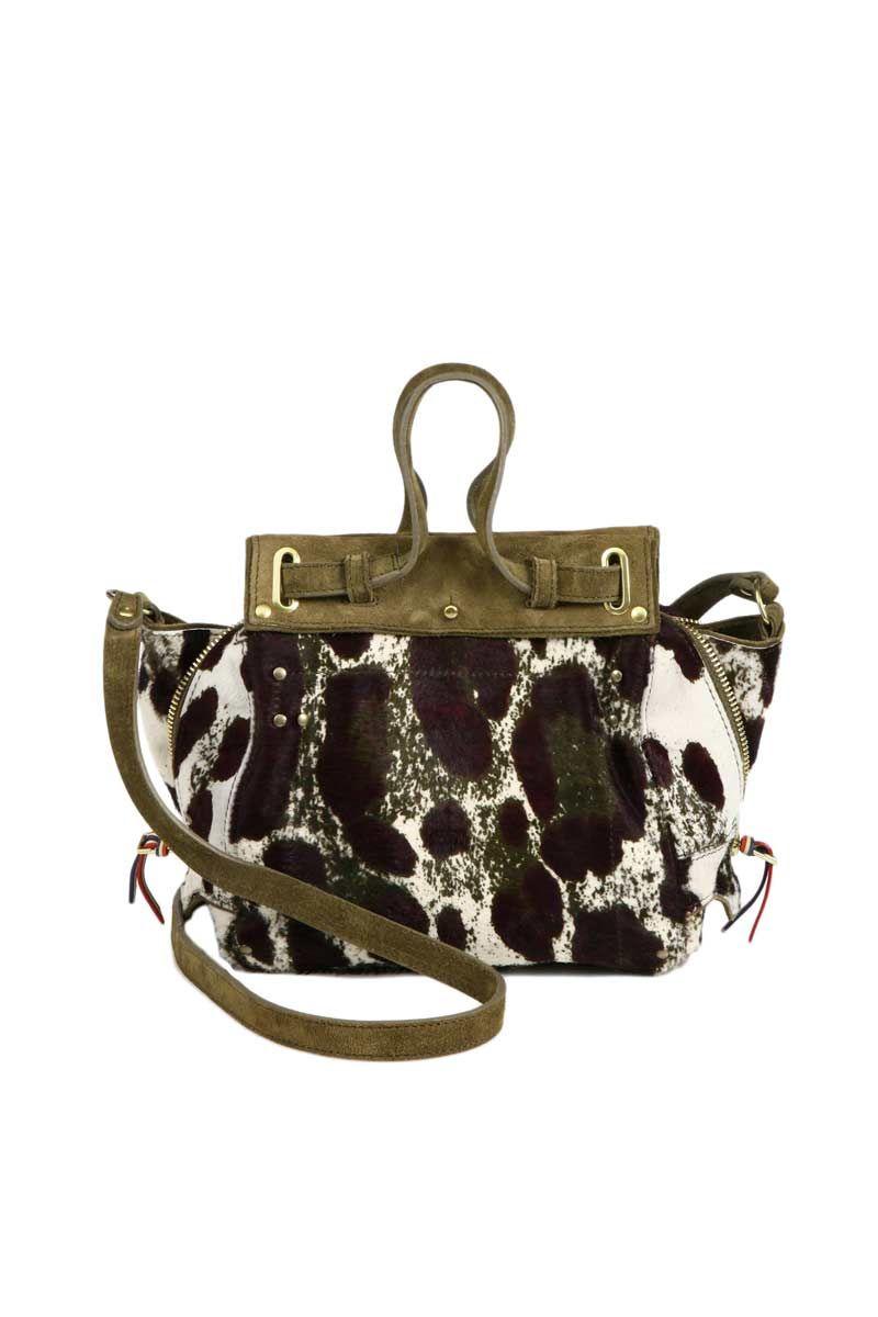jerome dreyfuss carlito leopard print bag