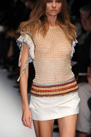 Alessandro DellAcqua Spring 2009 Ready-to-wear Detail - 001