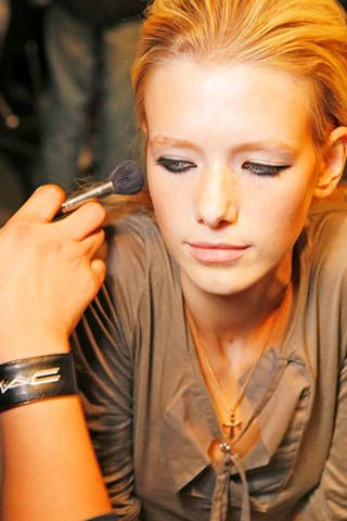 Just Cavalli Spring 2009 Ready-to-wear Backstage - 001